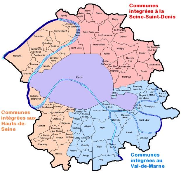 Paris 2020 des d partements en moins 92 93 94 75 le kac for Code postal de besancon