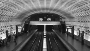 © David Fettig Le projet de métro de Christian Blanc qui pourrait être retenu serait en majorité souterrain au grand dam des architectes ayant travaillé à la consultation (ici, métro de Washington DC).